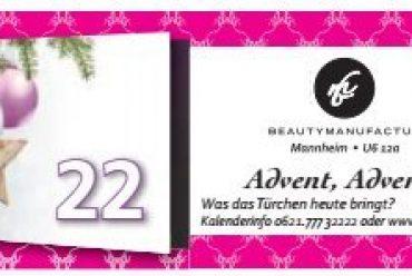 Der Beautymanufactur Adventskalender – Tag 22
