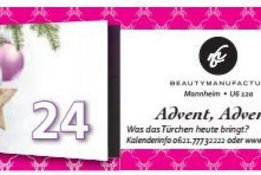 Der Beautymanufactur Adventskalender – Tag 24